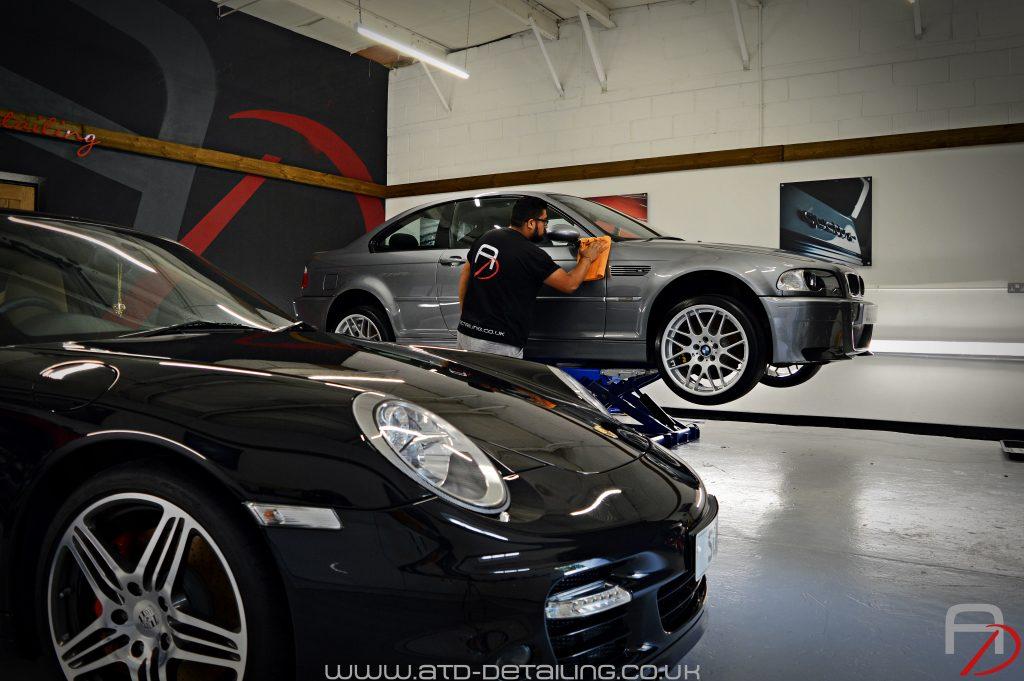 BMW Porsche Derby Detailing