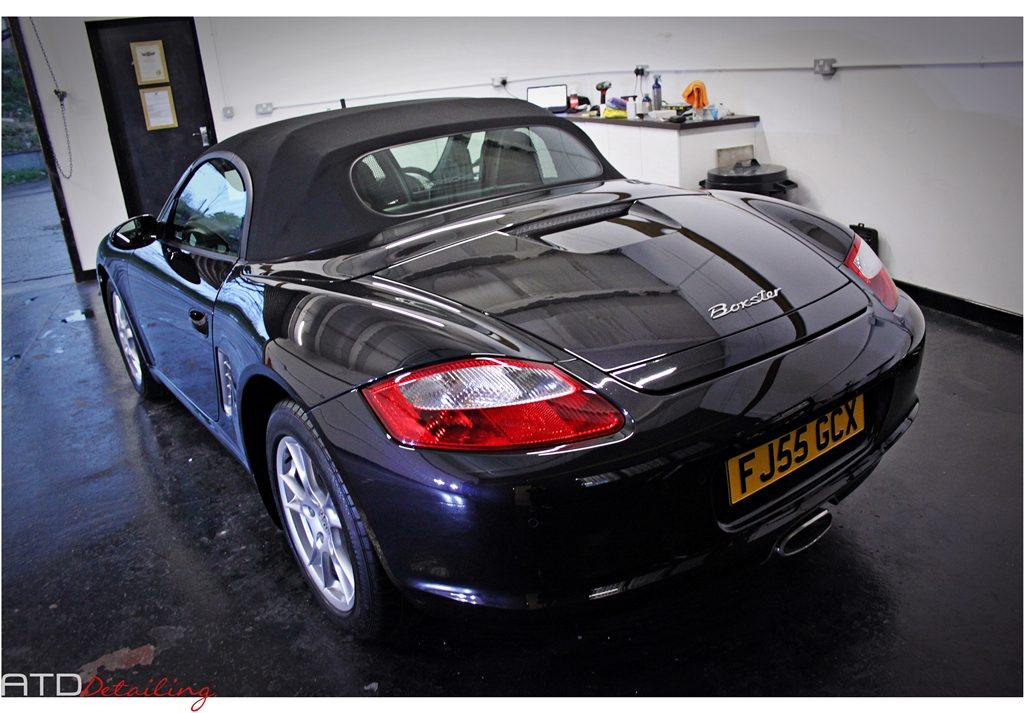 Porsche Boxster Paint Correction & Gtechniq Detail - ATD Detailing, Derby, East Midlands